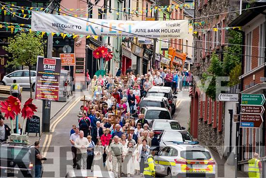 Killorglin Corpus Christi procession on Friday evening