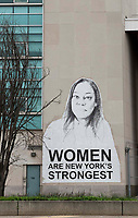New York, New York City, 3/30/20. Women are NY strong