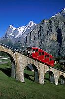Europe-SCHWEIZ-Switserland-Berner-Alps-Murren-Jungfrau-Eiger-Monch-Wetterhorn-Rosenlaui