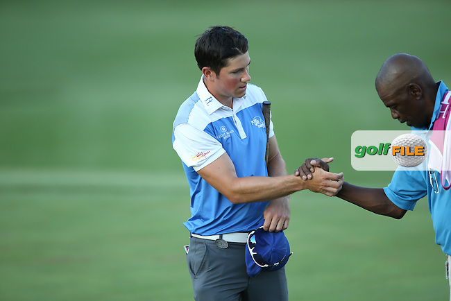 Rhys Enoch (WAL) cards a 66 to be in the mix during Round One of the Tshwane Open 2015 at the Pretoria Country Club, Waterkloof, Pretoria, South Africa. Picture:  David Lloyd / www.golffile.ie. 12/03/2015