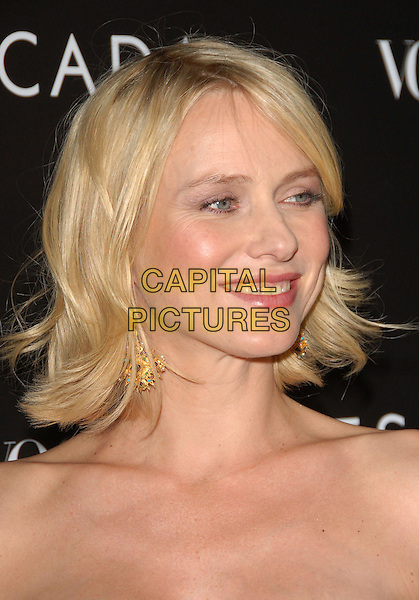 NAOMI WATTS.The Grand Opening of The Escada Beverly Hills Flagship Boutique at The Beverly Wilshire Hotel in Beverly Hills, California, USA..May 3rd, 2007.headshot portrait gold earrings.CAP/DVS.©Debbie VanStory/Capital Pictures