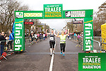 Sandra Byrne 28, Siobhan Lynch 202, who took part in the Kerry's Eye Tralee International Marathon on Sunday 16th March 2014.