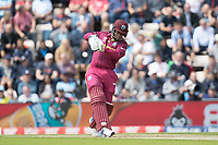 Shimron Hetmyer (West Indies) pulls a short delivery through mid wicket during England vs West Indies, ICC World Cup Cricket at the Hampshire Bowl on 14th June 2019