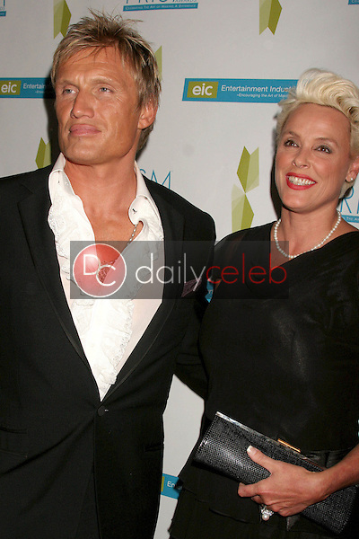 Dolph Lundgren and Brigitte Nielsen<br />