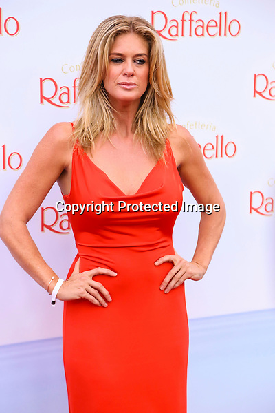 Rachel Hunter upon arrival to Raffaello Summer Day 2014, Kronprinzenpalais in Berlin on 21.06.2014.<br /> Credit: Tamara Bieber/face to face