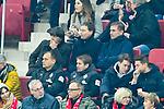 04.11.2018, Opel-Arena, Mainz, GER, 1 FBL, 1. FSV Mainz 05 vs SV Werder Bremen, <br /> <br /> DFL REGULATIONS PROHIBIT ANY USE OF PHOTOGRAPHS AS IMAGE SEQUENCES AND/OR QUASI-VIDEO.<br /> <br /> im Bild: Auf der Tribuene: Bundestrainer Joachim Loew, mit Markus / Marcus Sorg, Stefan Kuntz<br /> <br /> Foto © nordphoto / Fabisch