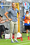 11.08.2019, Carl-Benz-Stadion, Mannheim, GER, DFB Pokal, 1. Runde, SV Waldhof Mannheim vs. Eintracht Frankfurt, <br /> <br /> DFL REGULATIONS PROHIBIT ANY USE OF PHOTOGRAPHS AS IMAGE SEQUENCES AND/OR QUASI-VIDEO.<br /> <br /> im Bild: Adi Hütter / Huetter / Hutter (Trainer Eintracht Frankfurt)<br /> <br /> Foto © nordphoto / Fabisch
