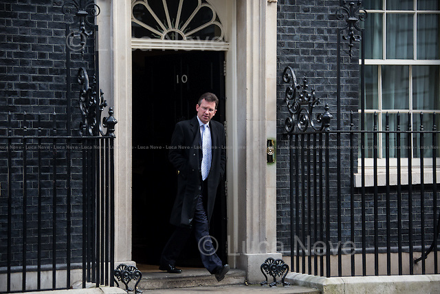 Jeremy Wright QC MP (Attorney General).<br /> <br /> London, 18/03/2015. British Government's weekly Cabinet meeting held at 10 Downing Street before the Chancellor's announcement of the Budget for the fiscal year 2015.