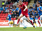 St Johnstone v Aberdeen&hellip;15.09.18&hellip;   McDiarmid Park     SPFL<br />Sam Cosgrove and Jason Kerr<br />Picture by Graeme Hart. <br />Copyright Perthshire Picture Agency<br />Tel: 01738 623350  Mobile: 07990 594431