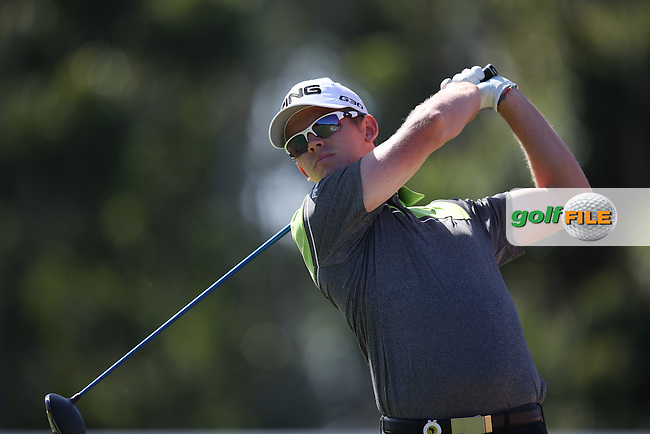 Brandon Stone (RSA) powers one down the 8th during Round Two of the Africa Open 2015 at the East London Golf Club, East London, Eastern Cape, South Africa. Picture:  David Lloyd / www.golffile.ie. 06/03/2015