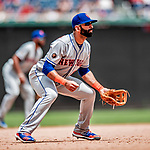 1 August 2018: New York Mets infielder Jose Bautista in action against the Washington Nationals at Nationals Park in Washington, DC. The Nationals defeated the Mets 5-3 to sweep the 2-game weekday series. Mandatory Credit: Ed Wolfstein Photo *** RAW (NEF) Image File Available ***