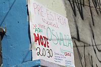 SAO PAULO, SP - 27.11.2015 - OCUPAÇÃO-ESCOLAS - Vista da escola Estadual Caetano Campos na região central de São Paulo manhã desta sexta-feira (27). A escola segue fechada junto somando 174 escolas paralizadas em todo o estado de São Paulo, segundo a Apeoesp. (Foto: Fabricio Bomjardim / Brazil Photo Press)