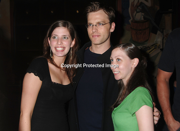 Trevor St John and fans..at The Gabriel Project Fundraiser at Prohibition Nightclub on ..June 3, 2006. The Gabriel Project brings dying children to the US for life-saving heart surgery...Robin Platzer, Twin Images