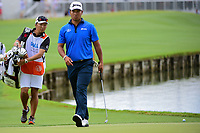 Hideki Matsuyama (JPN) approaches 13 during round 3 of the World Golf Championships, Dell Technologies Match Play, Austin Country Club, Austin, Texas, USA. 3/24/2017.<br /> Picture: Golffile | Ken Murray<br /> <br /> <br /> All photo usage must carry mandatory copyright credit (&copy; Golffile | Ken Murray)