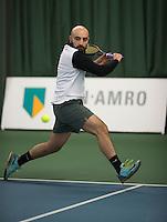 Rotterdam, Netherlands, Januari 28, 2017, ABNAMROWTT, Clubkampioenen, Arash Rezael<br /> Photo: Tennisimages/Henk Koster