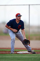 Cleveland Indians Anthony Miller (30) during an instructional league game against the Cincinnati Reds on October 17, 2015 at the Goodyear Ballpark Complex in Goodyear, Arizona.  (Mike Janes/Four Seam Images)