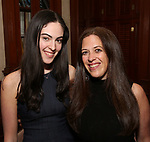 Kara Unterberg and daughter attends the DGF Salon with Stephen Schwartz at the Uterberg Residence on May 1, 2017 in New York City.