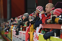 Picture by Anna Gowthorpe/SWpix.com - 02/02/2018 - Rugby League - Betfred Super League - Hull KR v Wakefield Trinity - KC Lightstream Stadium, Hull, England - Hull KR fans in the stands