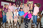 Eileen McGillycuddy, Kilcoolaght, Killorglin, pictured with her  family and friends as she celebrated her 50th birthday in The Fishery, Killorglin, on Friday night...
