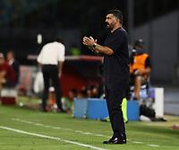 5th July 2020; Stadio San Paolo, Naples, Campania, Italy; Serie A Football, Napoli versus Roma; Gennaro Gattuso coach of Napoli