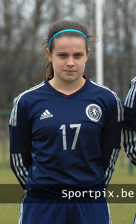 W U17 Belgi&euml; - Schotland :<br /> <br /> Chantelle Brown<br /> <br /> Copyright Dirk vuylsteke / Loft6.be