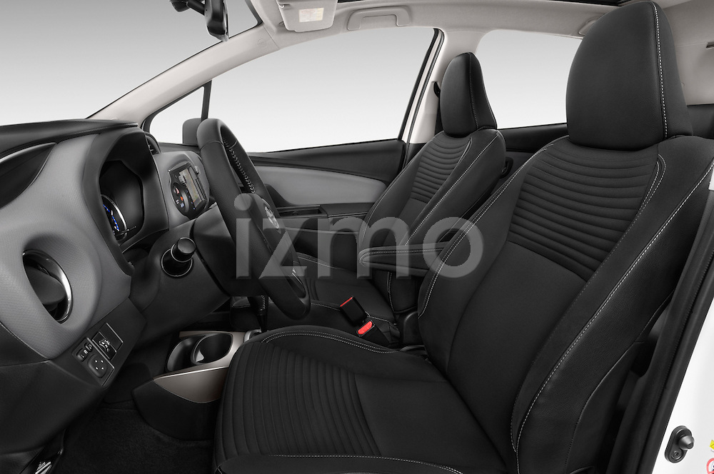 Front seat view of a 2015 Toyota Yaris Hybride Lounge 5 Door Hatchback 2WD Front Seat car photos