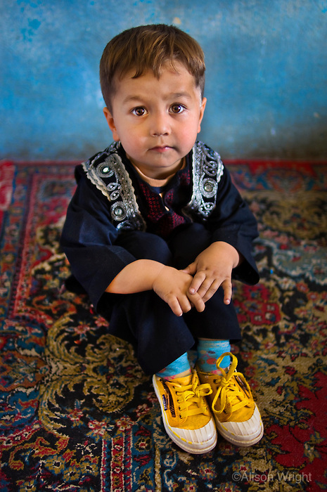 Boy in school, Kabul, 2007