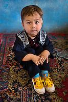 Boy in school, Kabul, 2007