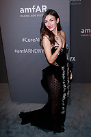 NEW YORK, NY - FEBRUARY 6: Victoria Justice arriving at the 21st annual amfAR Gala New York benefit for AIDS research during New York Fashion Week at Cipriani Wall Street in New York City on February 6, 2019. <br /> CAP/MPI99<br /> ©MPI99/Capital Pictures