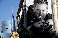 Milano 25/5/2015<br /> Veduta di Corso Como verso Porta Garibaldi. Sullo sfondo il grattacielo Unicredit, che ha cambiato lo skyline del capoluogo lombardo.<br /> Foto Livio Senigalliesi