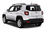 Car pictures of rear three quarter view of 2019 JEEP Renegade Latitude 5 Door SUV Angular Rear
