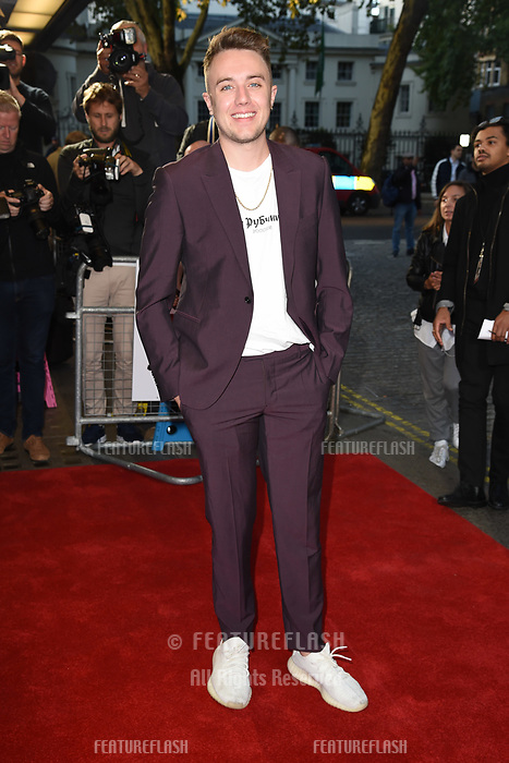 LONDON, UK. October 03, 2018: Roman Kemp at the premiere of &quot;Johnny English Strikes Again&quot; at the Curzon Mayfair, London.<br /> Picture: Steve Vas/Featureflash