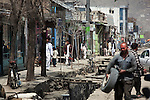 4 APRIL 2012, Kabul, Afghanistan:  Kabul street scenes. Picture by Graham Crouch/The Australian