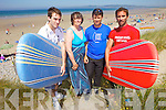 Patrick Dunne, Susan Dunne, Chris Flannery and Tom Leane who are getting ready for the annual Surf to Heal summer camp taking place at Banna beach in August.