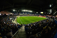HARRISON, NJ - MARCH 11: Red Bull Arena during a game between Tigres UANL and NYCFC at Red Bull Arena on March 11, 2020 in Harrison, New Jersey.
