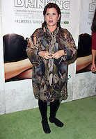 """27 December 2016 - Carrie Fisher, the iconic actress who portrayed Princess Leia in the Star Wars series, died Tuesday following a massive heart attack. Carrie Frances Fisher an American actress, screenwriter, author, producer, and speaker, was the daughter of singer Eddie Fisher and actress Debbie Reynolds. File Photo: 06 December 2010 - Hollywood, California - Carrie Fisher. Premiere of HBO's Documentary """"Wishful Drinking"""" based on Carrie Fisher's tale of her life held at the Linwood Dunn Theater at the Pickford Center for Motion Study. Photo Credit: Tommaso Boddi/AdMedia"""