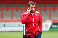 Stevenage Manager, Darren Sarll during Stevenage vs Norwich City, Friendly Match Football at the Lamex Stadium on 11th July 2017