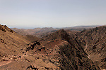 Israel, Eilat Mountains. Wadi Gishron