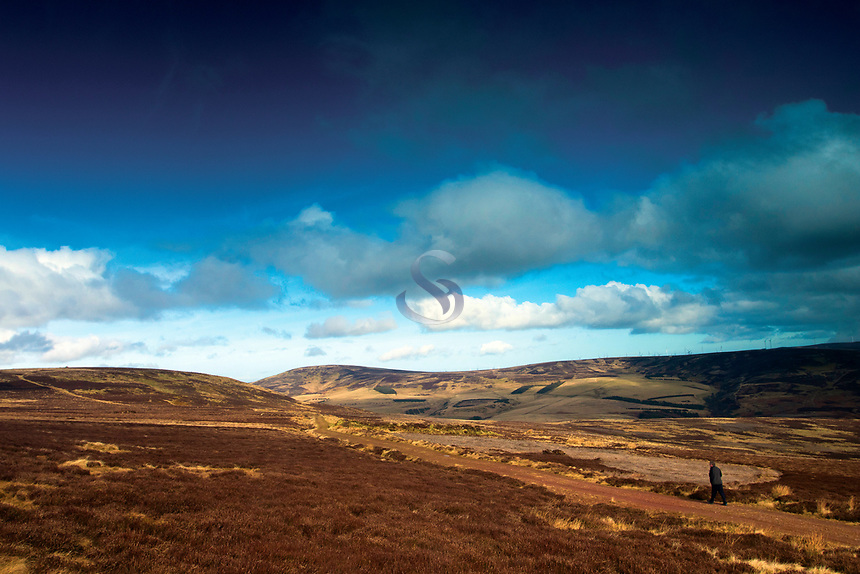Priestlaw Hill and Spartleton, the Lammermuir Hills, East Lothian