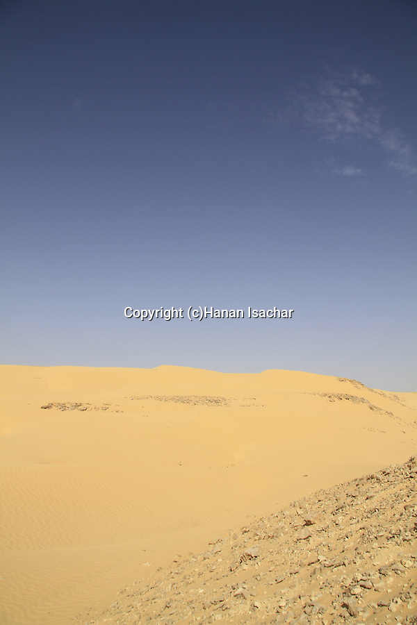 Israel, Negev, Kasuy dunes in Ovda valley