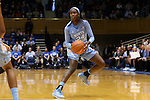 24 January 2016: North Carolina's Destinee Walker. The Duke University Blue Devils hosted the University of North Carolina Tar Heels at Cameron Indoor Stadium in Durham, North Carolina in a 2015-16 NCAA Division I Women's Basketball game. Duke won the game 71-55.