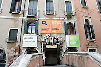 L'entrata di Palazzo Querini Stampalia a Venezia.<br /> The entrance of the Palazzo Querini Stampalia in Venice.<br /> UPDATE IMAGES PRESS/Riccardo De Luca