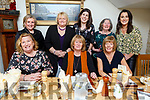 Enjoying their Little Christmas night out in Bella Bia on Friday night.<br /> Seated l-r, Bernie O&rsquo;Carroll, Catherine Seymore and Tracy Carroll.<br /> Back l-r, Breda Dennehy, Ann Conway, Trease O&rsquo;Carroll, Theresa Jamall and Niamh O&rsquo;Carroll.