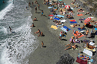 The beach at Riomaggiore, Italy, Europe, 2007, ©Stephen Blake Farrington