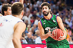 Unicaja Malaga's player Dani Diez during match of Liga Endesa at Barclaycard Center in Madrid. September 30, Spain. 2016. (ALTERPHOTOS/BorjaB.Hojas)