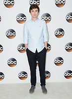 06 August  2017 - Beverly Hills, California - Freddie Highmore.   2017 ABC Summer TCA Tour  held at The Beverly Hilton Hotel in Beverly Hills. <br /> CAP/ADM/BT<br /> &copy;BT/ADM/Capital Pictures