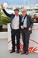 "CANNES, FRANCE. May 17, 2019: Paul Laverty & Ken Loach at the photocall for the ""Sorry We Missed You"" at the 72nd Festival de Cannes.<br /> Picture: Paul Smith / Featureflash"