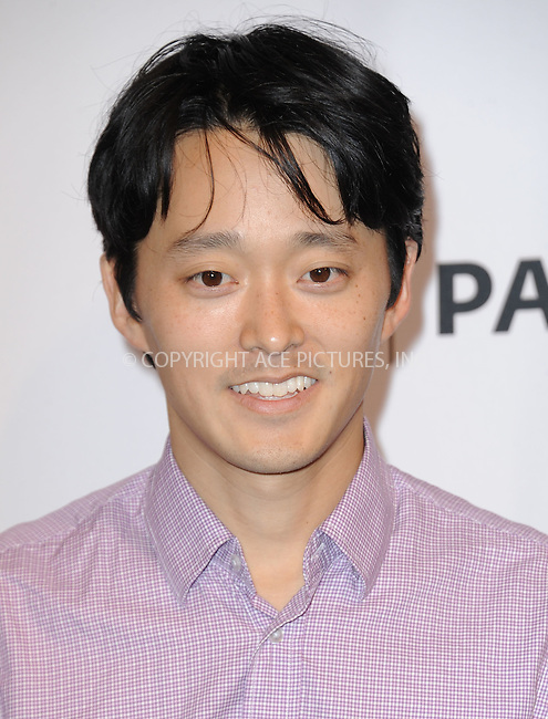 WWW.ACEPIXS.COM<br /> <br /> September 15 2015, LA<br /> <br /> Danny Chun executive producer/creator, of 'Grandfathered' attending The Paley Center for Media's PaleyFest 2015 Fall TV Preview for FOX at The Paley Center for Media on September 15, 2015 in Beverly Hills, California. <br /> <br /> <br /> By Line: Peter West/ACE Pictures<br /> <br /> <br /> ACE Pictures, Inc.<br /> tel: 646 769 0430<br /> Email: info@acepixs.com<br /> www.acepixs.com