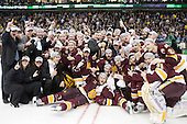 - The University of Minnesota-Duluth Bulldogs celebrated their 2011 D1 National Championship win on Saturday, April 9, 2011, at the Xcel Energy Center in St. Paul, Minnesota.