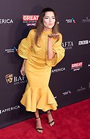 Blanca Blanco attends the BAFTA Los Angeles Awards Season Tea Party at Hotel Four Seasons in Beverly Hills, California, USA, on 06 January 2018. Photo: Hubert Boesl - NO WIRE SERVICE - Photo: Hubert Boesl/dpa /MediaPunch ***FOR USA ONLY***